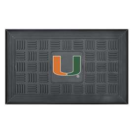 University of Miami  Medallion Door Mat