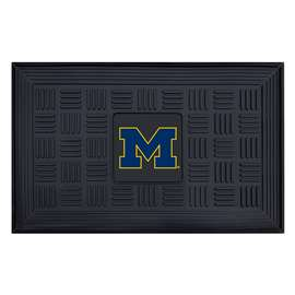 University of Michigan  Medallion Door Mat