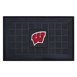 University of Wisconsin  Medallion Door Mat