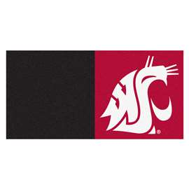 Washington State University  Team Carpet Tiles Rug, Carpet, Mats