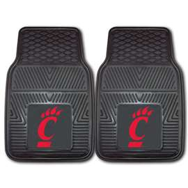 University of Cincinnati  2-pc Vinyl Car Mat Set