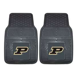 Purdue University  2-pc Vinyl Car Mat Set