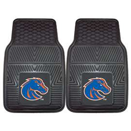 Boise State University  2-pc Vinyl Car Mat Set