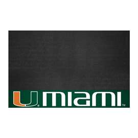 University of Miami  Grill Mat