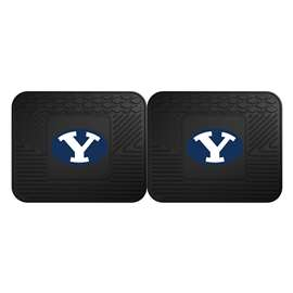 Brigham Young University  2 Utility Mats Rug Carpet Mat