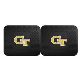 Georgia Tech  2 Utility Mats Rug Carpet Mat