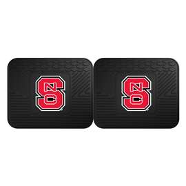 North Carolina State University  2 Utility Mats Rug Carpet Mat