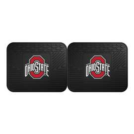 Ohio State University  2 Utility Mats Rug Carpet Mat