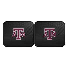 Texas A&M University  2 Utility Mats Rug Carpet Mat