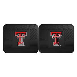 Texas Tech University  2 Utility Mats Rug Carpet Mat