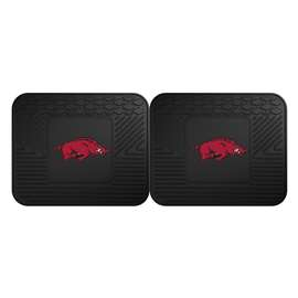 University of Arkansas  2 Utility Mats Rug Carpet Mat