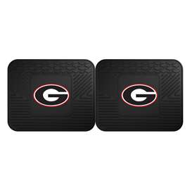 University of Georgia  2 Utility Mats Rug Carpet Mat