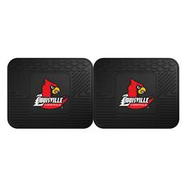 University of Louisville  2 Utility Mats Rug Carpet Mat