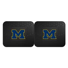 University of Michigan  2 Utility Mats Rug Carpet Mat