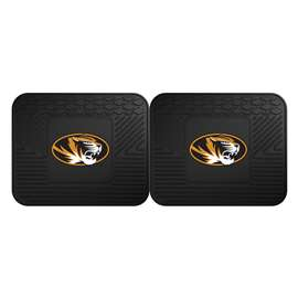 University of Missouri  2 Utility Mats Rug Carpet Mat