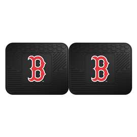 "MLB - Boston Red Sox 2-pc Utility Mat 14""x17""  2 Utility Mats"