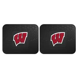 University of Wisconsin  2 Utility Mats Rug Carpet Mat