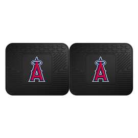 "MLB - Los Angeles Angels 2-pc Utility Mat 14""x17""  2 Utility Mats"