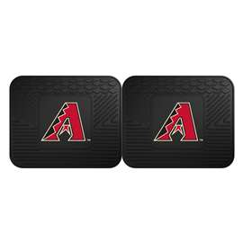"MLB - Arizona Diamondbacks 2-pc Utility Mat 14""x17""  2 Utility Mats"