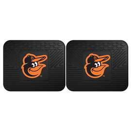 "MLB - Baltimore Orioles 2-pc Utility Mat 14""x17""  2 Utility Mats"