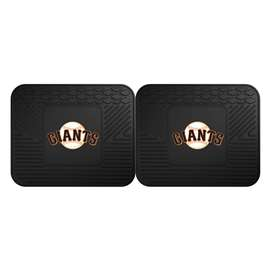 "MLB - San Francisco Giants 2-pc Utility Mat 14""x17""  2 Utility Mats"