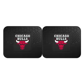 NBA - Chicago Bulls  2 Utility Mats Rug Carpet Mat
