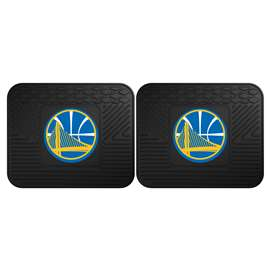 NBA - Golden State Warriors  2 Utility Mats Rug Carpet Mat