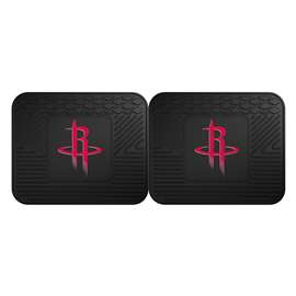 NBA - Houston Rockets  2 Utility Mats Rug Carpet Mat