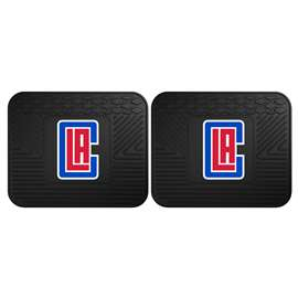 NBA - Los Angeles Clippers  2 Utility Mats Rug Carpet Mat