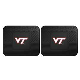 Virginia Tech  2 Utility Mats Rug Carpet Mat