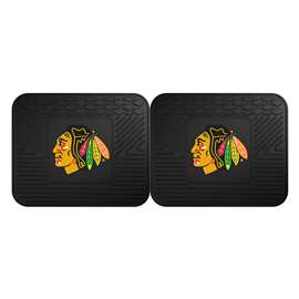 NHL - Chicago Blackhawks Rug Carpet Mat 14 X 17 Inches