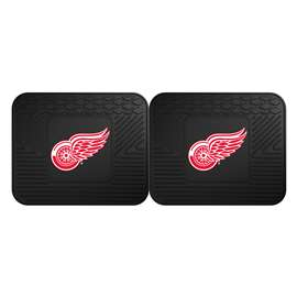 NHL - Detroit Red Wings Rug Carpet Mat 14 X 17 Inches