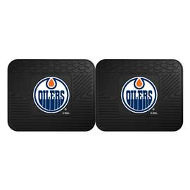 NHL - Edmonton Oilers Rug Carpet Mat 14 X 17 Inches