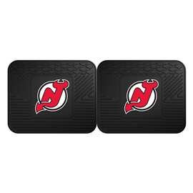 NHL - New Jersey Devils Rug Carpet Mat 14 X 17 Inches