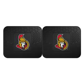 NHL - Ottawa Senators Rug Carpet Mat 14 X 17 Inches