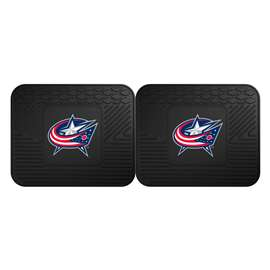NHL - Columbus Blue Jackets Rug Carpet Mat 14 X 17 Inches