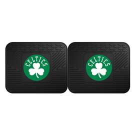 NBA - Boston Celtics  2 Utility Mats Rug Carpet Mat