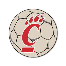 University of Cincinnati  Soccer Ball Mat, Rug , Carpet