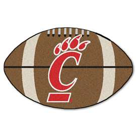 University of Cincinnati  Football Mat Mat Rug Carpet