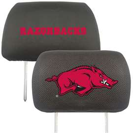 University of Arkansas  Head Rest Cover Car, Truck