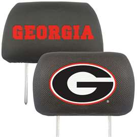 University of Georgia  Head Rest Cover Car, Truck