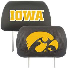 University of Iowa  Head Rest Cover Car, Truck