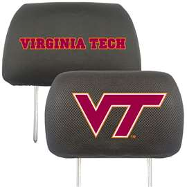 Virginia Tech  Head Rest Cover Car, Truck