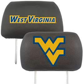 West Virginia University  Head Rest Cover Car, Truck