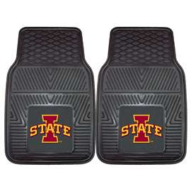 Iowa State University  2-pc Vinyl Car Mat Set
