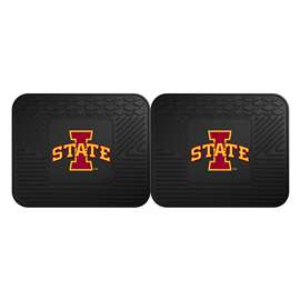Iowa State University  2 Utility Mats Rug Carpet Mat