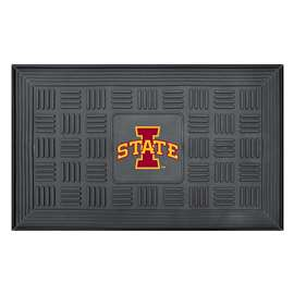 Iowa State University  Medallion Door Mat
