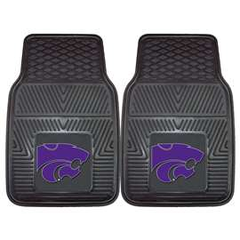 Kansas State University  2-pc Vinyl Car Mat Set