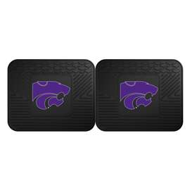 Kansas State University  2 Utility Mats Rug Carpet Mat