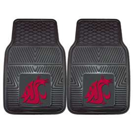 Washington State University  2-pc Vinyl Car Mat Set